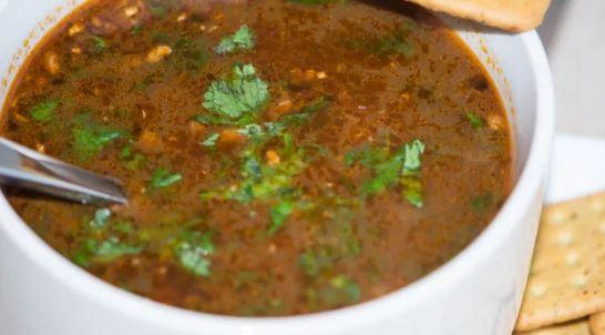 Black gram soup (काले चने का सूप) ; हैल्दी भी, टेस्टी भी