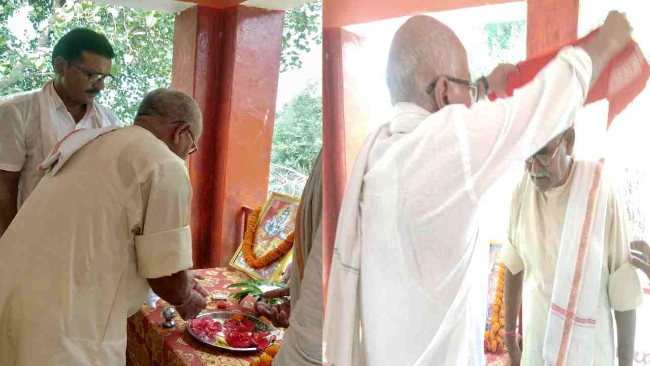 मारुति नंदन मंदिर विकास समिति के तत्वधान में पूरे जोश के साथ ग्रामीणों ने मनाया विजयदशमी का कार्यक्रम