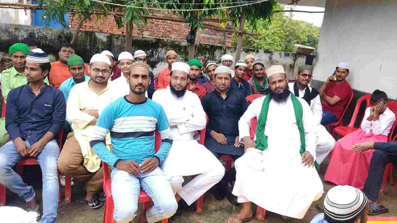 गाजीपुर ब्लाक बाराचवर माटा में प्रशासन के नियुक्ति में शान्ति पुर्व ढंग से सम्पन्न हुआ हज़रत मोहम्मद साहब का जन्मदिन